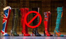 Kinky Boots in Line